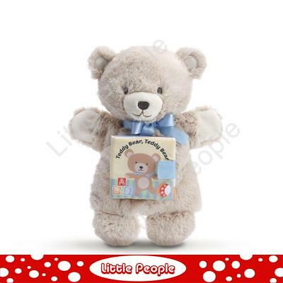 NEW Plush Nat and Jules Plush THIS LITTLE  Teddy Bear BOOK Fabric