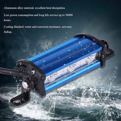 4'' 9W 3 LED Spot Work Light Bar Lamp Motorcycle Offroad Truck Boat For Jeep SUV