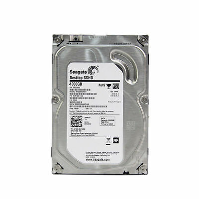 Seagate ST4000DX001 4TB Solid State Hybrid Drive for Desktop 7200rpm SATA 6Gb/s
