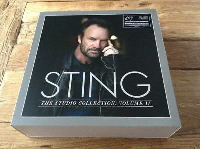 Sting - The Studio Collection: Vol Ii, Vinyl, 5Lp Box-Set Compilation