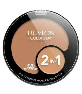 Revlon Colorstay Foundation 2 in 1 Makeup & Concealer - 320 True Beige