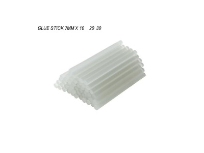 Adhesive Hot Melt 7mm 7.2mm Glue Sticks for Trigger Electric Gun 100mm long X 10