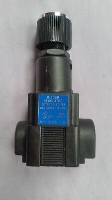 Air pressure regulator , Air Logic, R-7060, output 0- 60psi, max supply 150psi