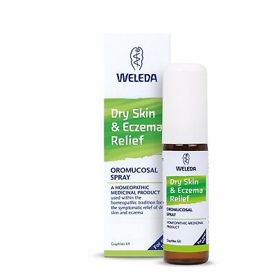 Weleda Dry Skin & Eczema Relief Oral Spray 20ml - Homeopathic Medicinal Product