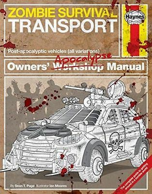 Zombie Survival Transport Manual: Post-apocalyptic vehicles (HC) 1785211668