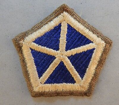 WWII World War 2 U.S. Army Interwar V Corps Military Used Patch No Reserve
