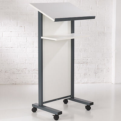 White Panel Front Lectern