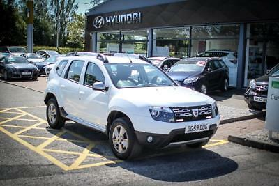 2016 16 DACIA DUSTER 1.5 dCi 110 Laureate 5dr in Glacie