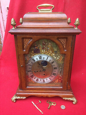 Christiaan Huygens Bracket Clock, G17..quality antique reproduction , READ A/F