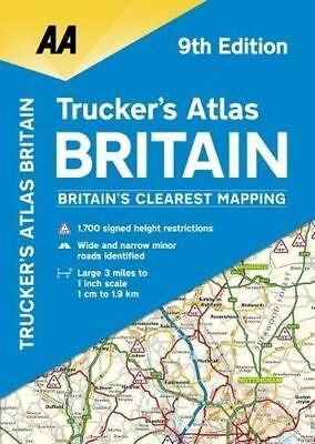 AA Truckers Atlas Britain (AA Road Atlas) (Aa Road Atlas (Spiral) 0749578858