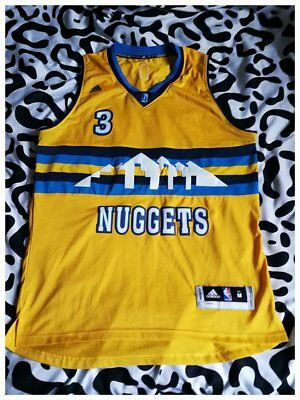ce416a574 ... best price denver nuggets 3 ty lawson nba swingman throwback jersey  shirt trikot champion eur 2000