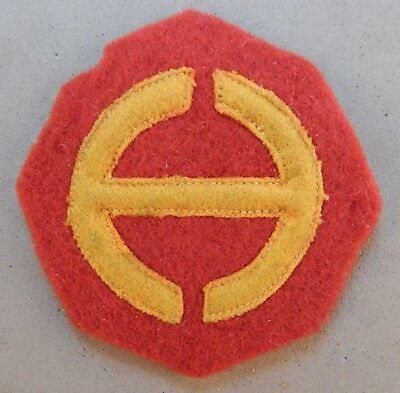WWII World War 2 U.S. Army Hawaii Department Wool / Felt Used Patch No Reserve