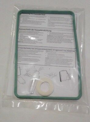 Gasket to fit a Scican statim 2000 cassette autoclave. seal.  Plus Air filter