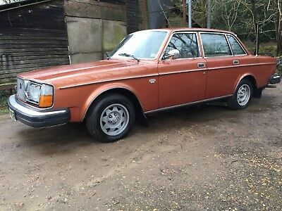 Volvo 264 Gl Inj 2.7 V6 Automatic Very Rare I Owner 48000M 1 0F 5 Cars  244 240