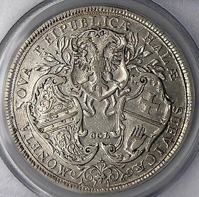 Hall 1746 Franciscus Silver Thaler PCGS XF40