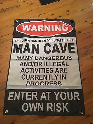 poster bar sign man cave flag bar ware pool room jd bourbon banner whiskey