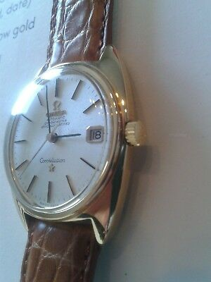Omega Constellation Chronometer Automatic Gold 750 18K Omega Museum Certificate