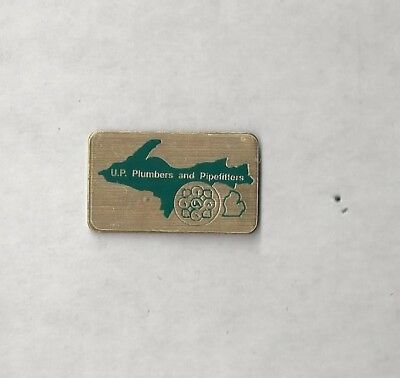 Awesome UA PLUMBERS PIPEFITTERS STEAMFITTERS UNION Local Lapel PIN Pinback