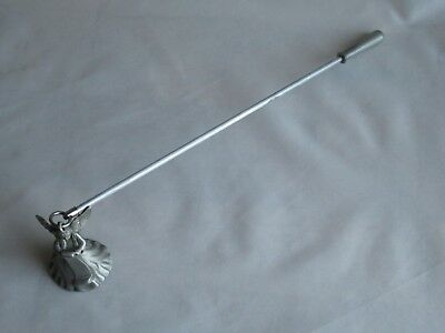 Vintage 1997 Partylite Pewter Angel Candle Snuffer  **good Condition**
