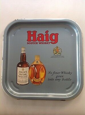 Vintage Haig Scotch Whisky Drinks Tray