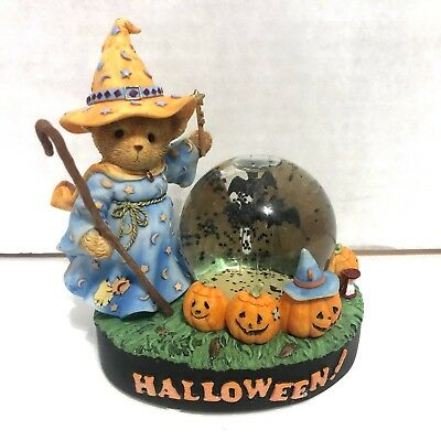 "CHERISHED TEDDIES #4003713 ""It's Time To Brew Up Some Batty Fun"" 2006 Halloween"