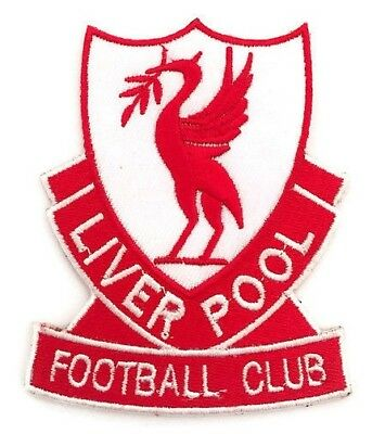 "LIVERPOOL FOOTBALL CLUB PATCH BADGE ""NEW"" on.328"