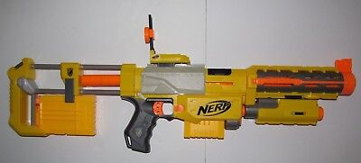 NERF N-Strike RECON CS-6 Blaster Rifle with 7 Streamline NERF Darts!!!  (#1418)