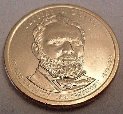 2011 D Ulysses S. Grant Presidential Dollar Coin  **FREE SHIPPING**
