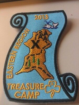 Girl Guides / Scouts Treasure Camp 2013