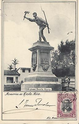 Costa Rica: 1905: post card San Jose to München