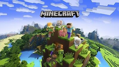Minecraft Windows 10 Edition   Full Game   PC   Instant Delivery  
