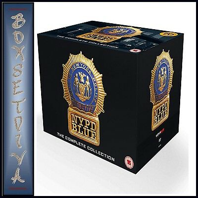 Nypd Blue Complete Series - Seasons 1 2 3 4 5 6 7 8 9 10 11 & 12 **brand New Dvd