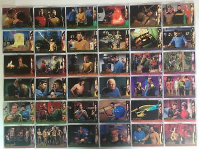 Star Trek The Original Series 2 TOS Character Log Chase Card Set 52 Cards