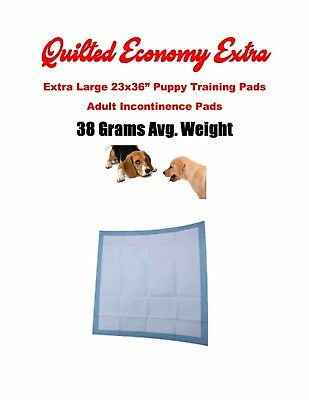 "300ct-23x36"" CHEAP Quilted Puppy Training Piddle pee Pads 38gr Incontinence Pads"