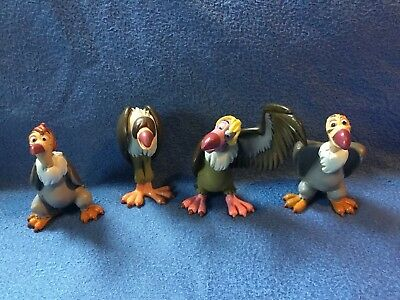RARE Disney The Beatles Vultures figure Buzzie, Flaps, Ziggy & Dizzy Jungle Book