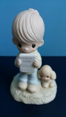 "1978 Jonathan & David 'Precious Moments' Figurine: ""God Understands"""