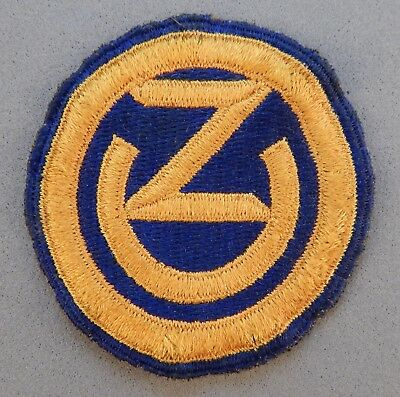WWII World War 2 U.S. Army 102nd Infantry Division Reserve Ozark Used Patch NR