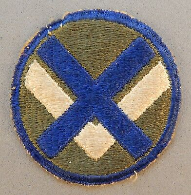 WWII World War 2 U.S. Army XV Corps Military Used Patch No Reserve