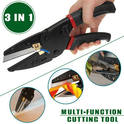 Multi-Function Cut 3 In 1 Pliers Power Cutting Tool With Built-In Wire Cutter UK