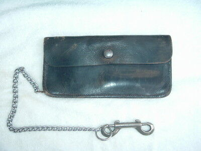 Vintage Big Biker / Truckers Wallet And Chain By Beard