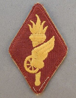 WWII World War 2 U.S. Army Transportation Training School Used Patch No Reserve
