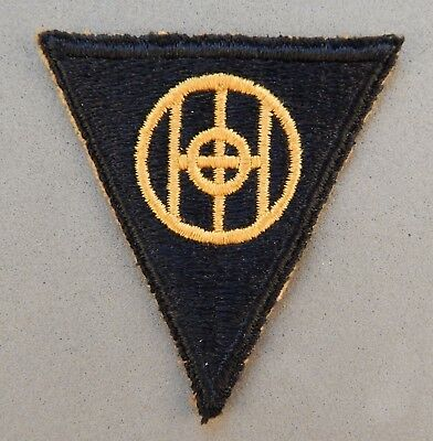 WWII World War 2 U.S. Army 83rd Infantry Division Used Patch No Reserve