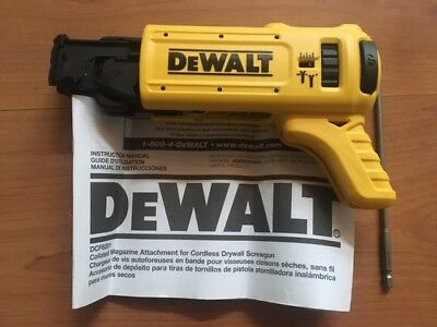 Brand New DEWALT DCF6201 Attachment XR Li-Ion Drywall ScrewGun Tool Only