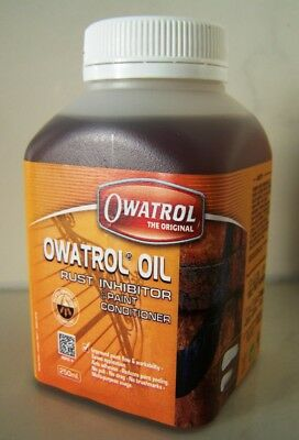 Owatrol OIL ÖL Rust-converter 250 ml Inhibitor Proofer Preventer Paint-additive