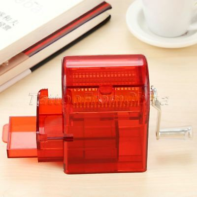 Hand Crank Crusher Tobacco Spice Herb Grinder Smoking Case Muller Shredder