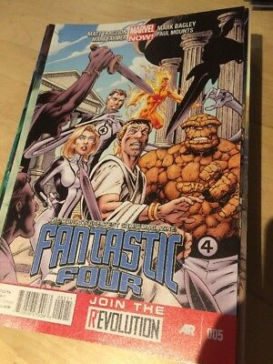 Fantastic Four Marvel Comic Book Us Issue #616 / #5 May 2013