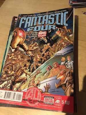 Fantastic Four Marvel Comic Book Us Issue #616 / #5Au May 2013 Age Of Ultron