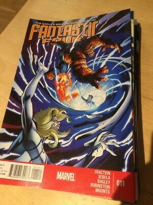 Fantastic Four Marvel Comic Book Us Issue #11 October 2013