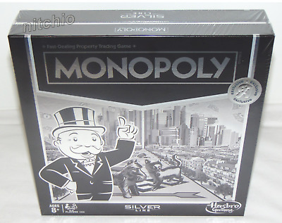 MONOPOLY Silver Line TRU Toys R Us Exclusive Board Game