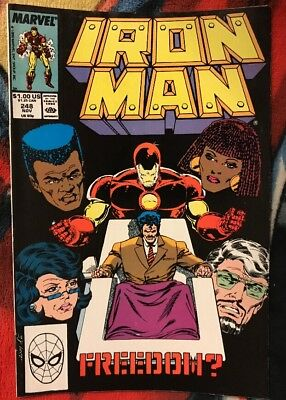 Marvel IRON MAN 248 FN ***$3.98 UNLIMITED SHIPPING***